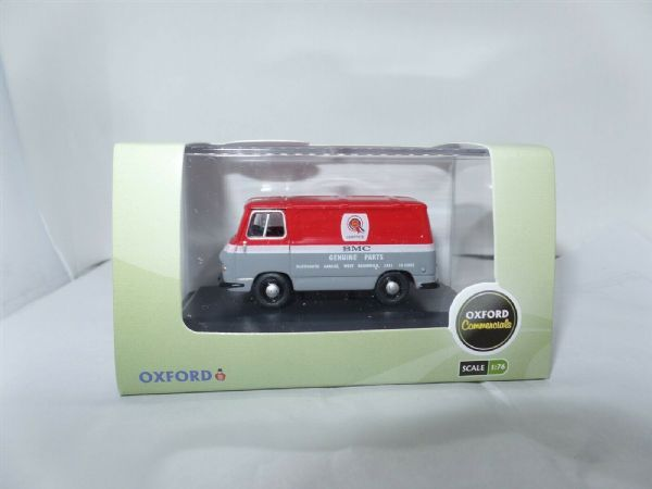 Oxford 76J4004 J4004 1/76 OO Scale  BMC Morris J4 Van BMC Parts West Bromwich